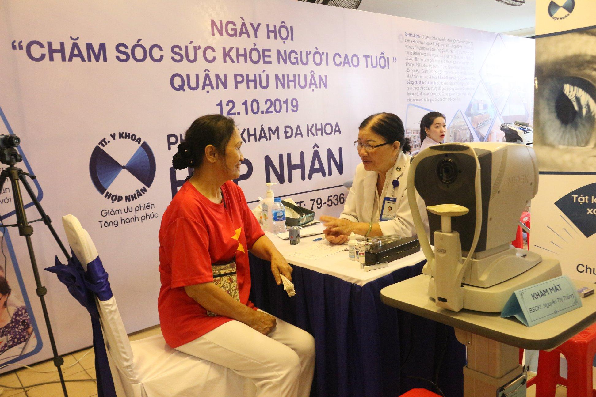 Ngày hội chăm sóc sức khỏe người cao tuổi quận Phú Nhuận